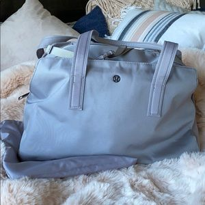 Lululemon gym / travel bag - chrome